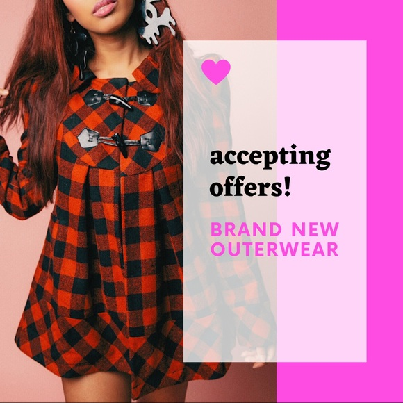 Glam by Glad Jackets & Blazers - Brand new outerwear!